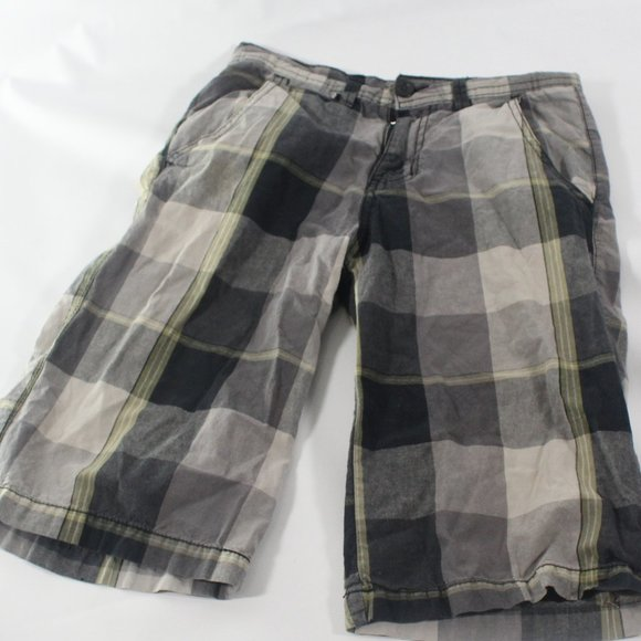DICKIES PLAID MEN'S PLAID SHORT (IV-SEW)